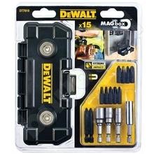 DeWalt DT7919 - Sada bitů a nástrčných klíčů (15-ti dílná) v MAGboxu