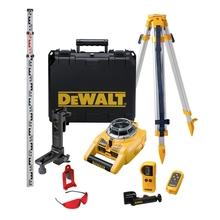 DeWalt DW075PK - Rotační vertikální a horiznotální laser (sada)