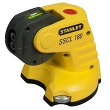 Stanley SSCL 180 - Křížový laser a laserová olovnice