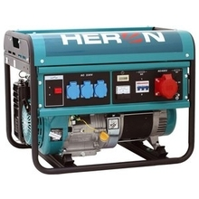 HERON EGM 60 AVR-3 - Elektrocentrála benzínová 6,0 kW