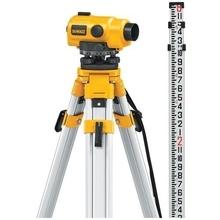 DeWalt DW096PK - Laserová optika + stativ + vměřovací tyč