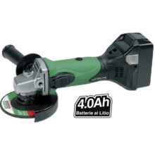 Hitachi G18DSLTW - Aku úhlová bruska (115 mm) 18 V / 4,0 Ah