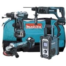 Makita DLX4008 - Aku sada nářadí 18 V / 3.0 Ah