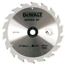 DeWalt DT1149 - Pilový kotouč serie 30 pro kotoučové pily 184x16mm (18 zubů)