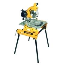 DeWalt DW743N - Kombinovaná stolní a pokosová pila (250 mm; 2000 W)